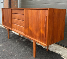 Load image into Gallery viewer, REFINISHED Danish MCM Teak Sideboard Credenza, Perfect