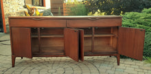"Load image into Gallery viewer, RESTORED MCM Walnut Sideboard Credenza by Kaufman 66.5"", Mint"