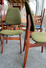 Load image into Gallery viewer, 6 REFINISHED MCM Teak chairs by Brødrene Sørheim in Maharam wool upholstery, Norway, Perfect