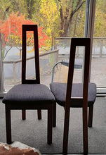 Load image into Gallery viewer, Set of 2 MCM Teak high-back side chairs by RS Associates RESTORED