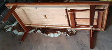 Load image into Gallery viewer, REFINISHED Danish MCM Teak Coffee Table 3 in 1 by Johannes Andersen , PERFECT