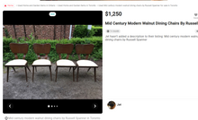 "Load image into Gallery viewer, REFINISHED Rare Russell Spanner Dining Table Extendable 60""-78""- PERFECT (matching 6 chairs available) - Mid Century Modern Toronto"