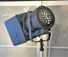 Load image into Gallery viewer, Vintage Industrial Movie Theater Photography Spot Light - iron floor lamp on wheels - Mid Century Modern Toronto
