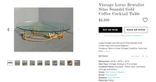 Load image into Gallery viewer, MCM Brutalist Silas Seandel Lotus  Coffee Table large, rare - Mid Century Modern Toronto