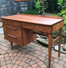Load image into Gallery viewer, REFINISHED Sculptural MCM Jan Kuyper Solid Wood Desk by Imperial, perfect - Mid Century Modern Toronto