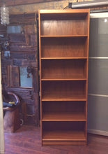 "Load image into Gallery viewer, Danish MCM Teak Bookcase RESTORED H 78.5"" - Mid Century Modern Toronto"