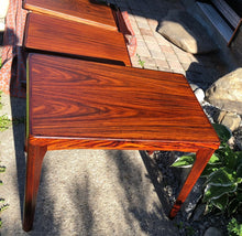 Load image into Gallery viewer, REFINISHED Danish MCM  Rosewood Accent Side End Tables, set of 2; perfect - Mid Century Modern Toronto
