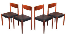 Load image into Gallery viewer, 4 Poul Volther for Frem Rojle Danish MCM Teak Chairs REFINISHED REUPHOLSTERED, perfect, like new - Mid Century Modern Toronto