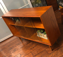 Load image into Gallery viewer, REFINISHED Danish MCM Teak Bookcase Display 4f, perfect - Mid Century Modern Toronto
