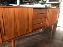 "Load image into Gallery viewer, Danish MCM Teak Sideboard TV Console 63"", perfect - Mid Century Modern Toronto"