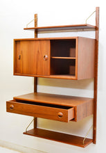 Load image into Gallery viewer, ON HOLD -TEAK MCM MODULAR WALL UNIT DANISH WITH STORAGE & DISPLAY, perfect - Mid Century Modern Toronto