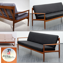 Load image into Gallery viewer, REFINISHED MCM Teak 3-Seater Sofa by Grete Jalk for France & Son, model 118; will have new custom made cushions - Mid Century Modern Toronto