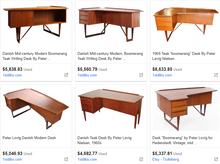Load image into Gallery viewer, ON HOLD***REFINISHED Danish MCM  Boomerang Teak Desk by Peter Løvig PERFECT - Mid Century Modern Toronto