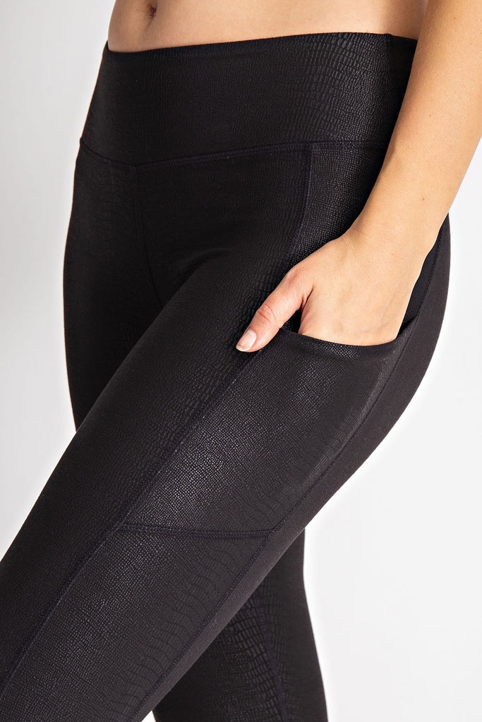 Feeling Fine Leggings - Python