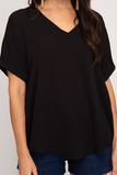 True Romance Top - Black