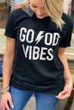 Good Vibes Tee - Black