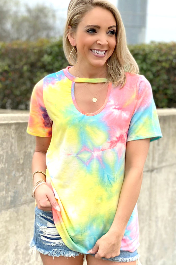 Bright New Day Top - Tie Dye