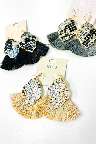 More To Give Tassel Earrings