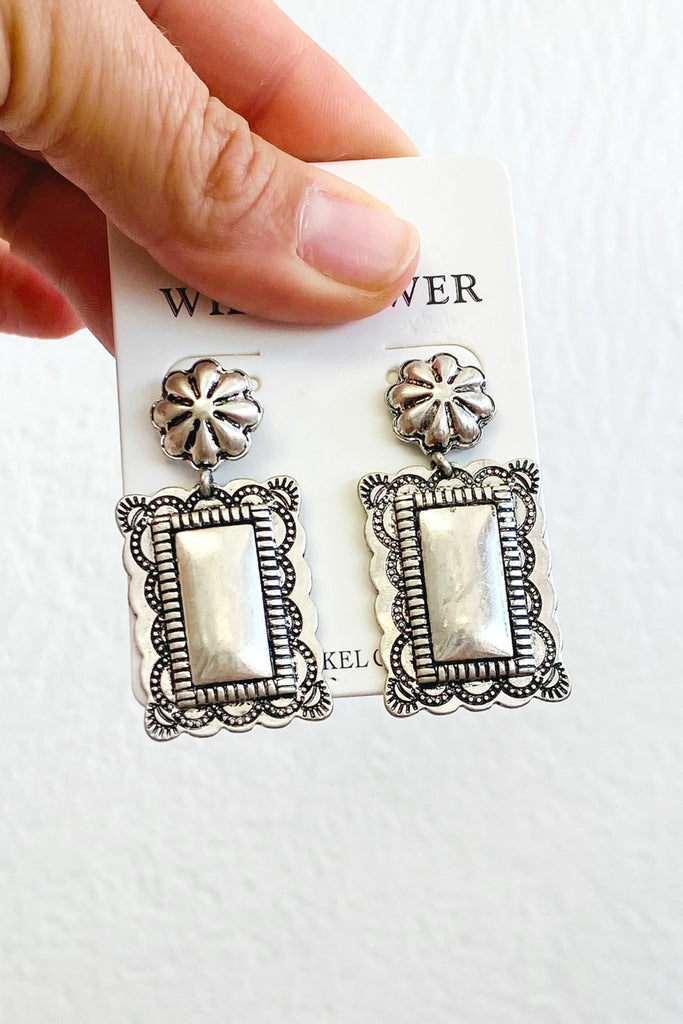 Fit To Be Square Earrings