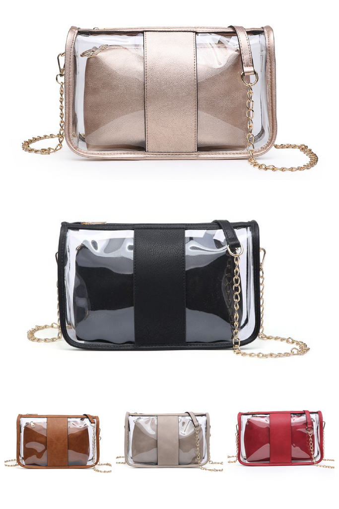 The Josie Clear Crossbody