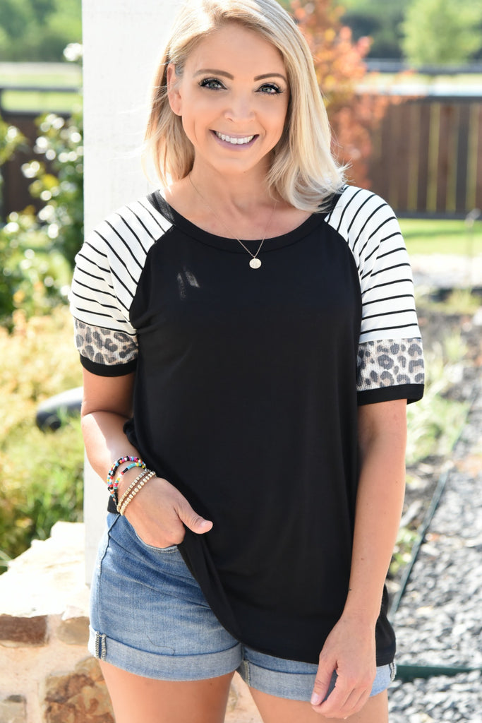 Ready For Anything Top - Black