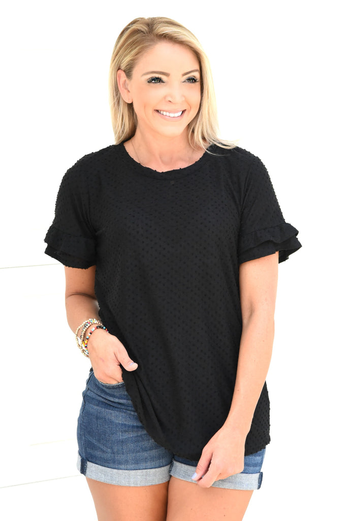 Soft And Sweet Top - Black