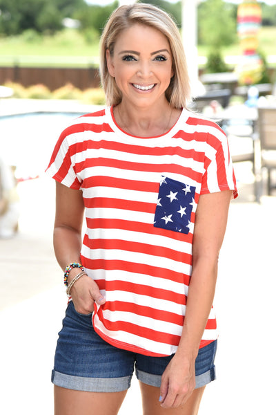 Stars And Stripes Fever Top