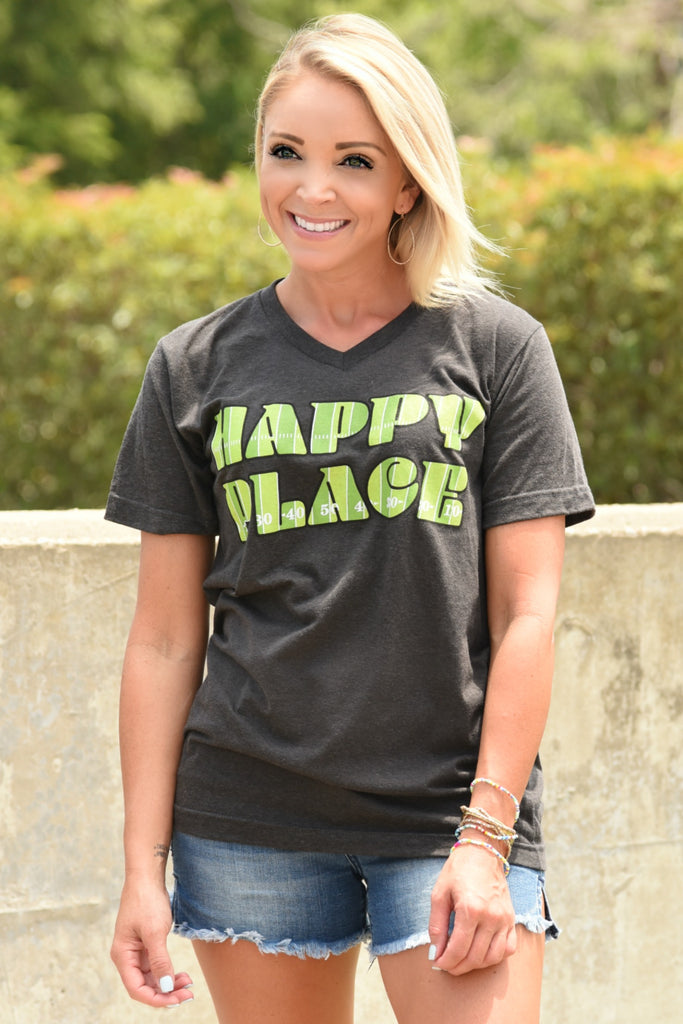 Happy Place Tee - Football