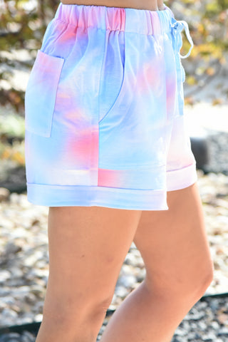Count Me In Shorts - Tie Dye