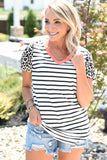 Headed Out Striped Top