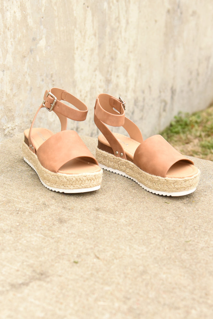 The Weekender Platforms - Tan
