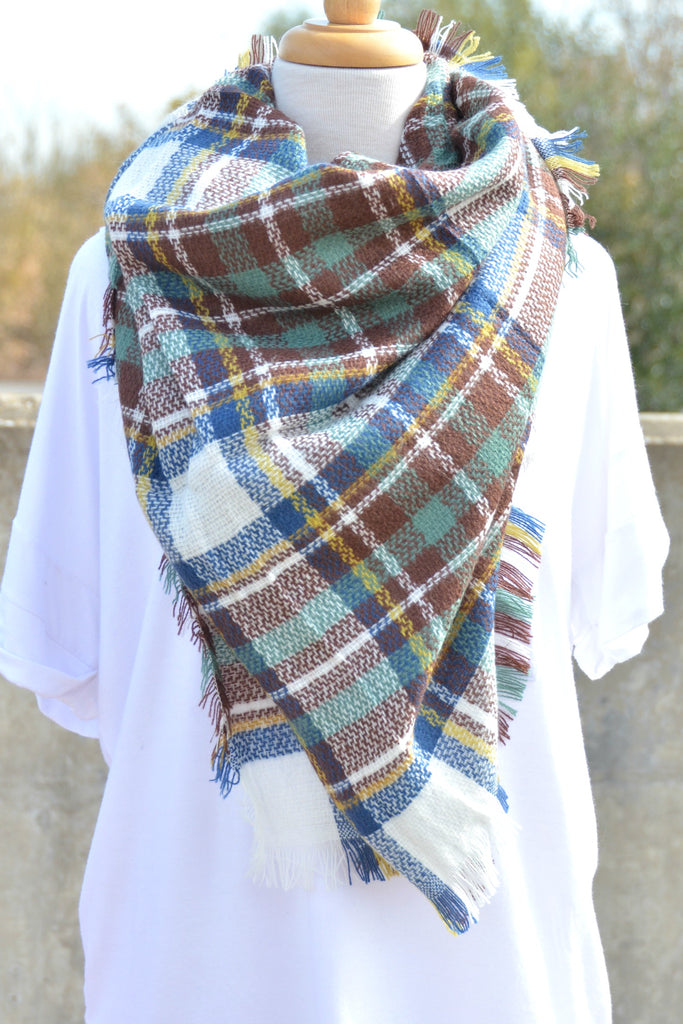 Snuggle Up Scarf - Teal