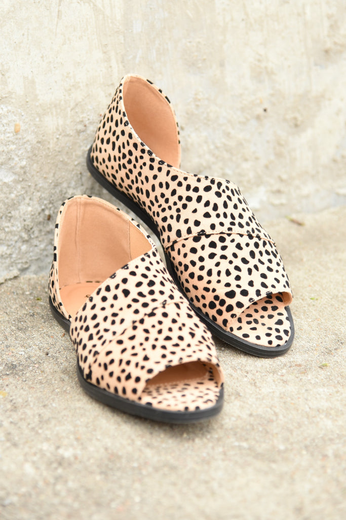 Step My Way Sandals - Cheetah