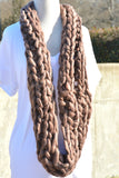 Don't Let Go Infinity Scarf - Raisin