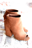 Changing Seasons Booties - Chestnut
