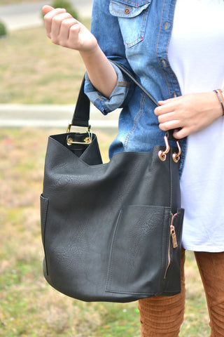 So Much To Love Bag - Black