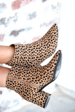 Leave Your Mark Booties - Cheetah