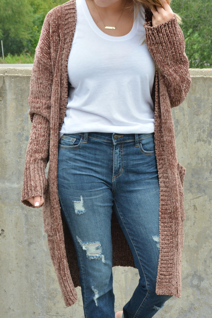 Whispering Winds Cardigan