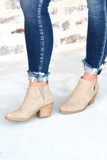 Headed Out Booties - Taupe