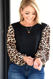 Ready To Go Top - Leopard