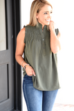 My Sweet Side Top - Olive