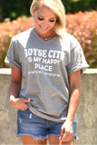 Happy Place Coordinates Tee - Royse City