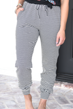 Taking Chances Striped Joggers