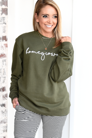 Homegrown Sweatshirt - Olive
