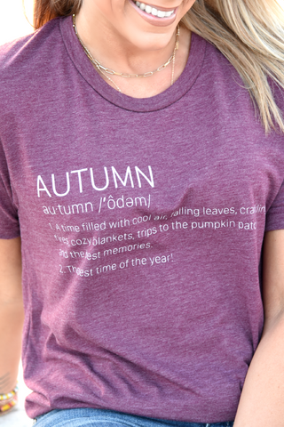 Autumn Definition Tee