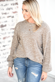 Cool Nights Sweater - Mocha