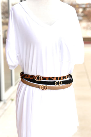 Triple Treat Belt Set