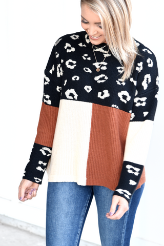 Be Your Forever Sweater - Leopard