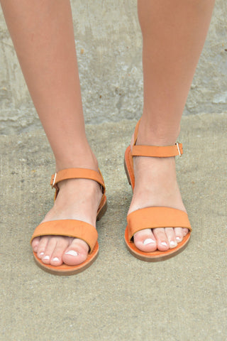 One Step Away Sandal - Tan
