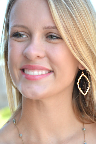 Summer Rendezvous Earrings - Gold